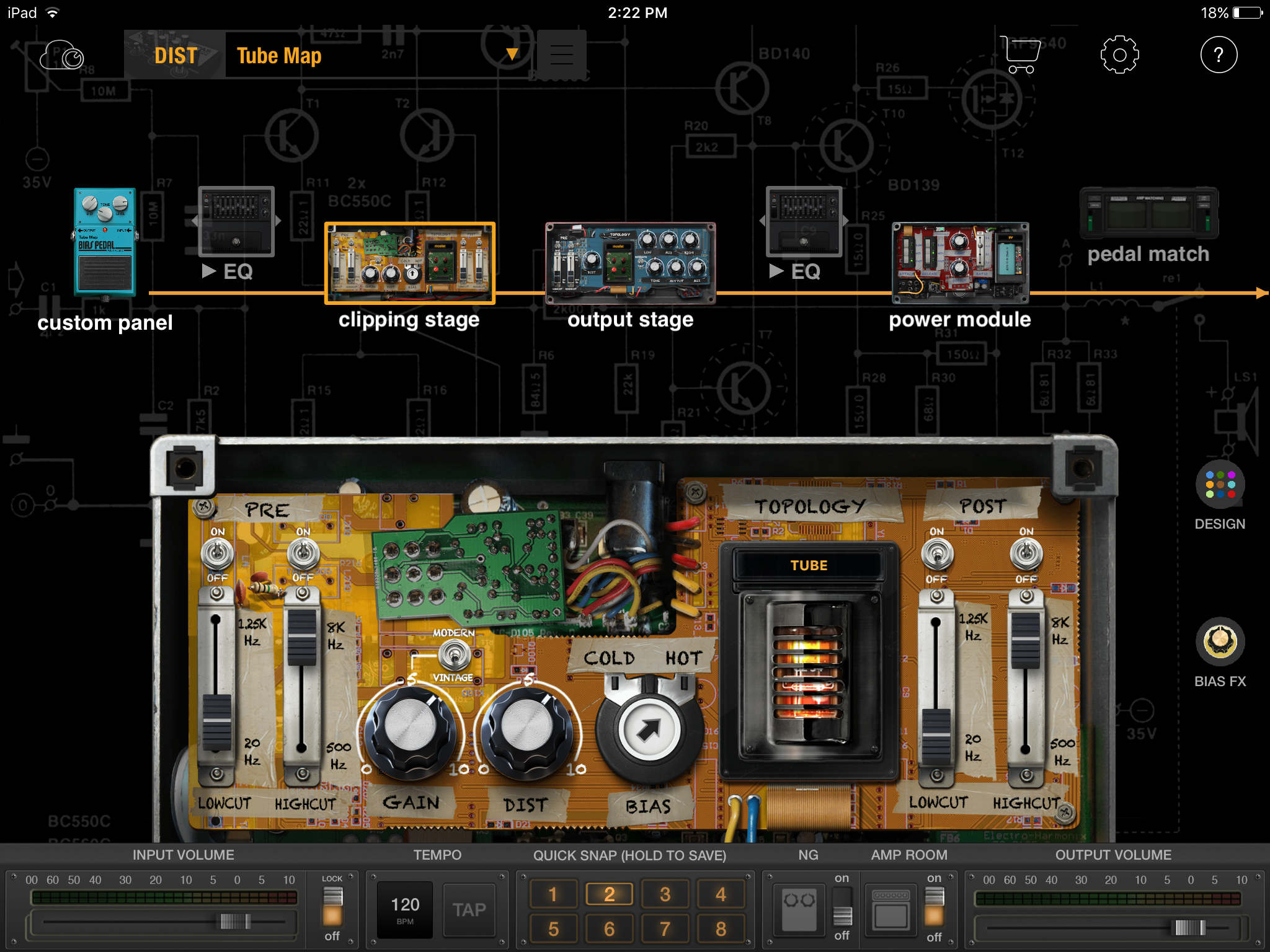 BIAS Pedal iOS - 1