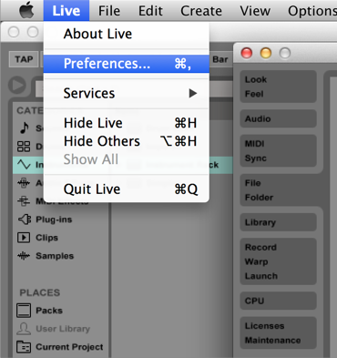 How to Find BIAS FX in Ableton Live – Help Center